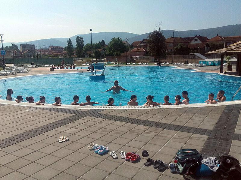 Počela sa radom Škola plivanja