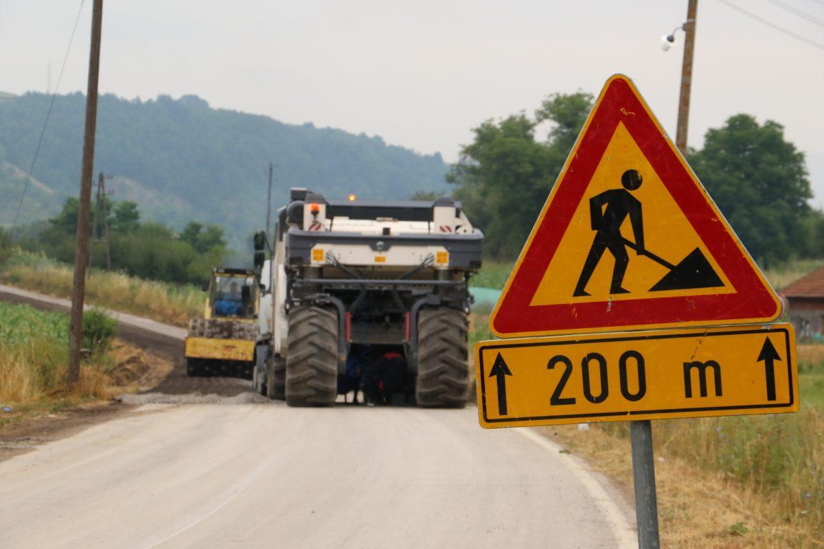 Rekonstrukcija puta Svrljig-Stara planina u punom jeku