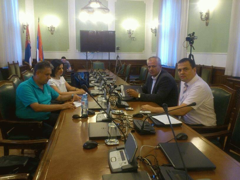Miletić predsedavao na prvoj sednici Pododbora