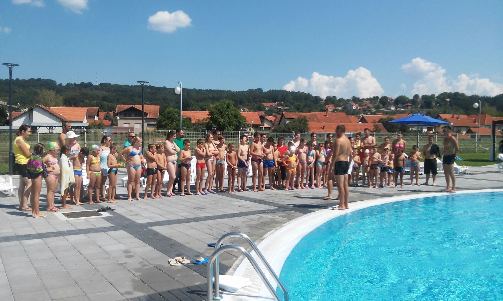 Škola plivanja, foto: J.D. / Svrljiške novine