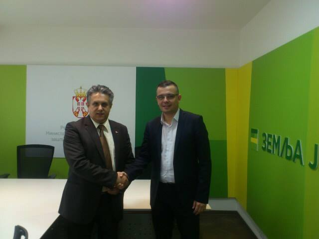 Miletić se sastao sa ministrom Branislavom Nedimovićem