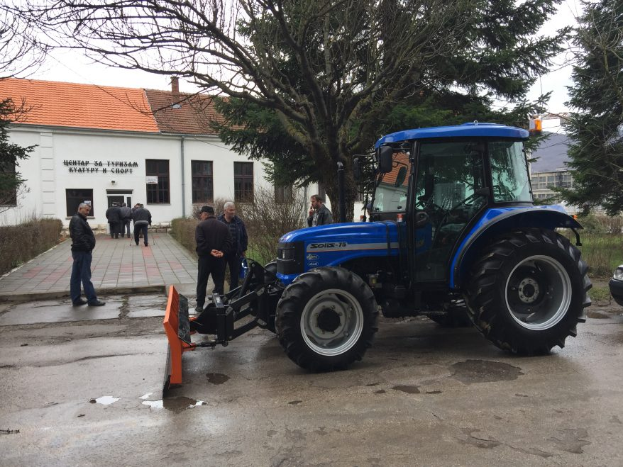 Pravilnik o podsticajima za investicije u fizičku imovinu poljoprivrednog gazdinstva za nabavku novog traktora