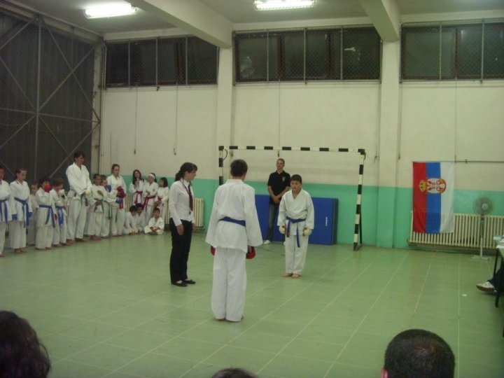 Arhivska fotografija, karate klub, opština Svrljig