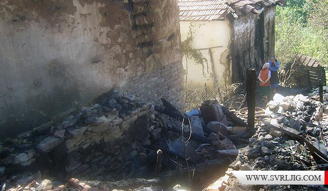 U požaru izgorela kuća 1