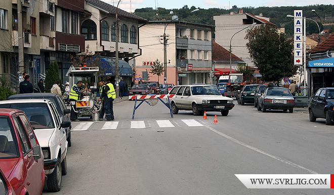 Obeležavanje saobraćajnice užeg gradskog jezgra 1