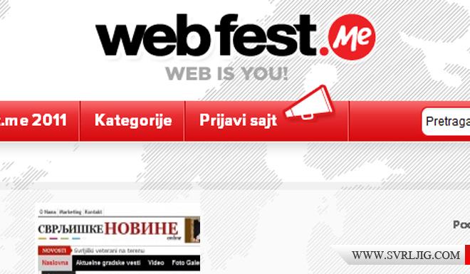 Web fest slika