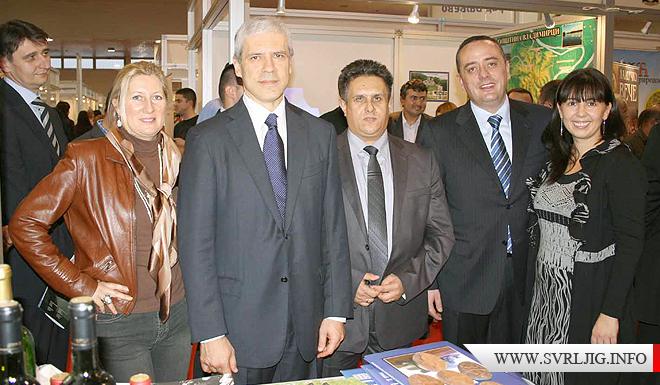 Tadic sa predstavnicima opstine Svrljig