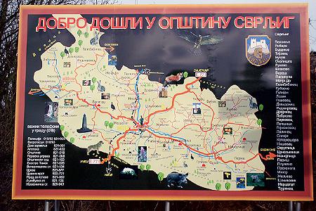 svrljig mapa Svrljig kultura, kulturne vesti na sajtu   Svrljiške novine svrljig mapa