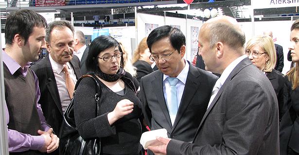 Korejanci na svrljiskom standu