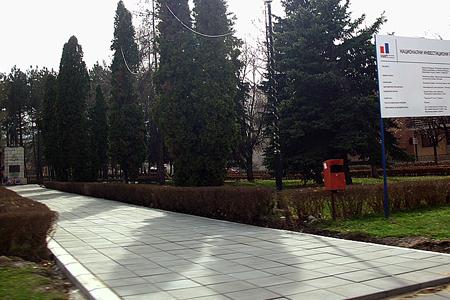 Novi izgled svrljiškog parka