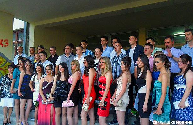 Maturanti srednje škole proslavili maturu