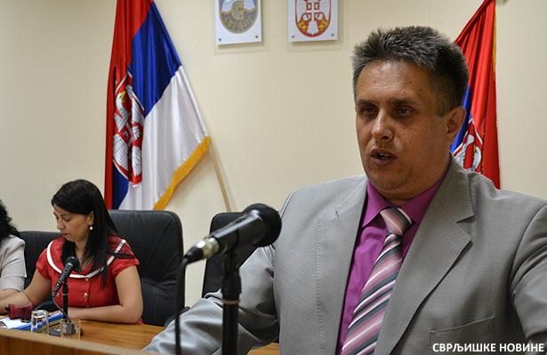 Predsednik opstine Milija Miletic danas