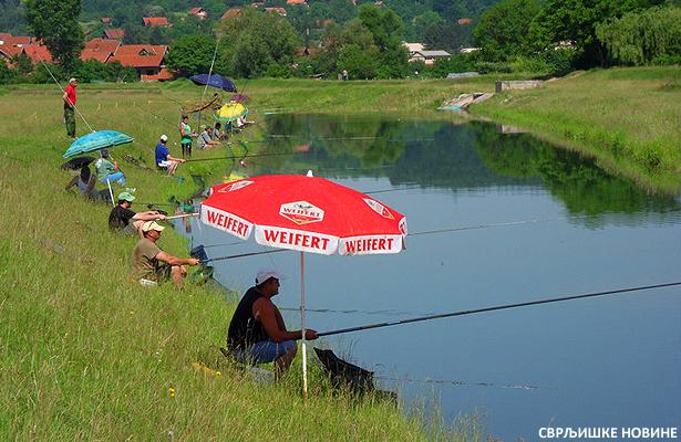 Takmičenje ribolovaca na Timoku