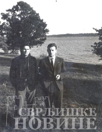 1964 Mazurka Jezera studenska radnicka omladina u poseti Hrane Radojkovic i Zoran Nikolic iz Svrljigaa