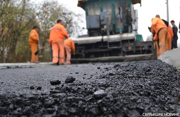 Počelo asfaltiranje u Krste Popovića