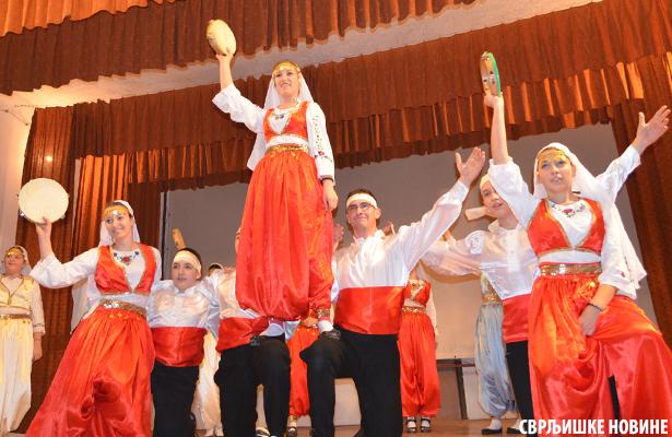 Folklorni spektakl u Svrljigu