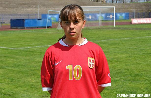 Jelena Marinkvoić na pripremama za reprezentaciju