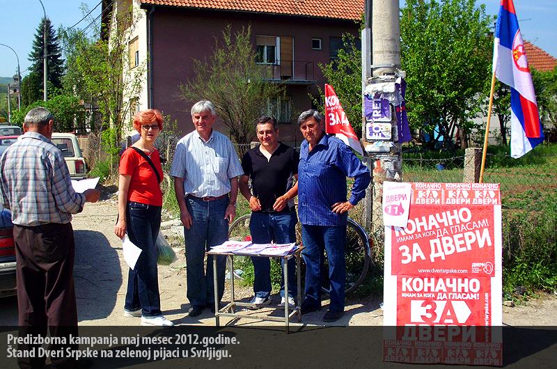 Predizborna kampanja maj mesec 2012.godine.1