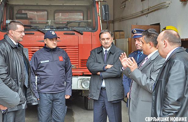 Marić: Prijem vatrogasaca i u Svrljigu