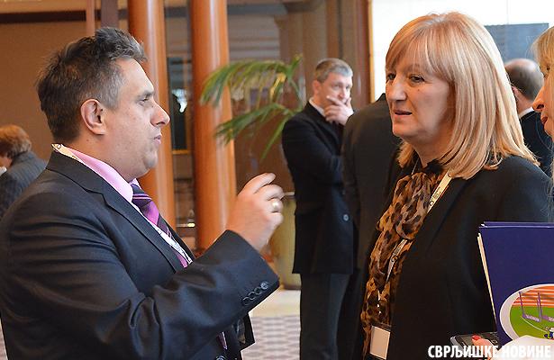 Verica Kalanovic u razgovoru sa predsednikom opstine Svrljig