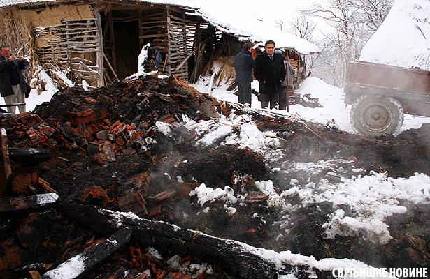 U požaru gorele krave i ovce