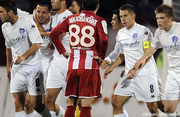Ranđelović debitovao za A reprezentaciju Makedonije