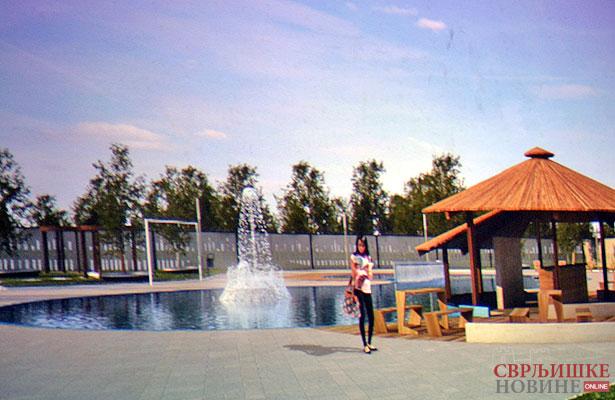Počinje izgradnja bazena