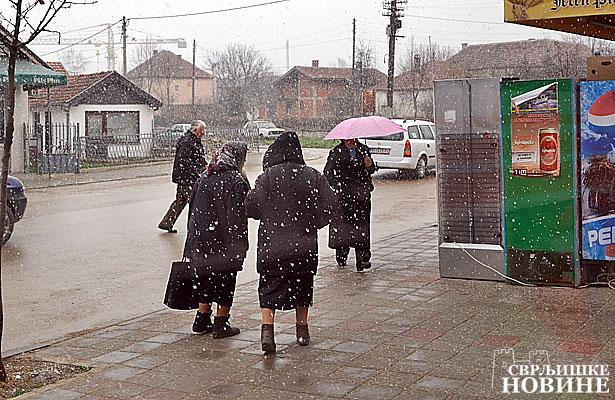 Foto vest: Prolećni sneg
