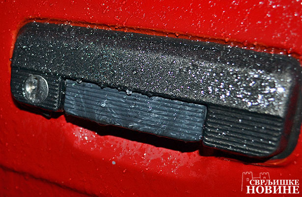 Foto vest: Oprez, pada ledena kiša
