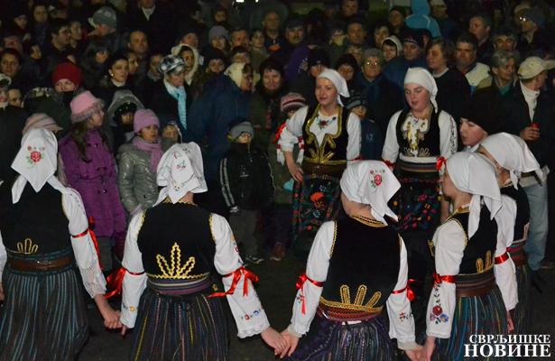 Osmomartovski folklorni koncert