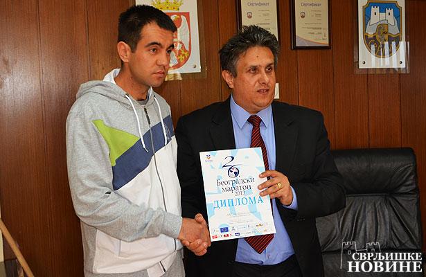 Predsednik čestitao Maratoncu