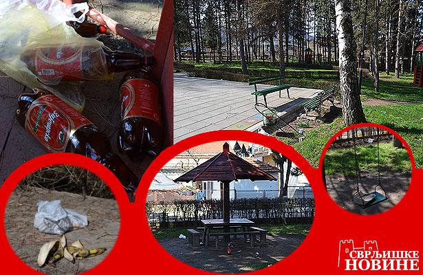 Foto vest: Park ponedeljkom ujutru