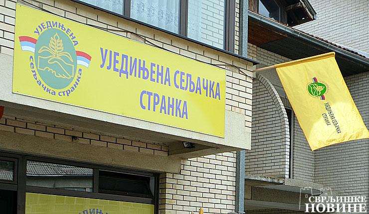 NAJAVLJENO: Ujedinjena seljačka stranka iznedrila novog kandidata za predsednika opštine