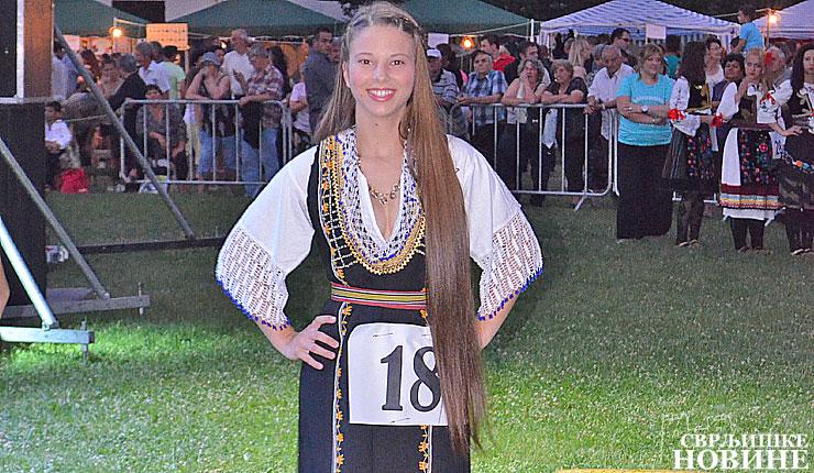 Najlepša pastirica Belmužijade ima kosu 1,5 m