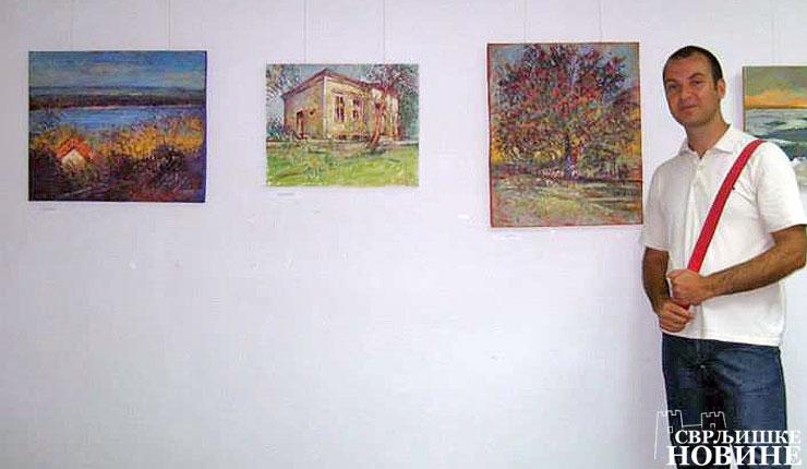 Svrljiški slikar ponovo u Bugarskoj