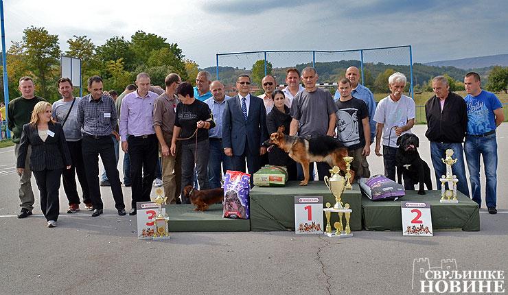 Održana V Nacional izložba pasa u Svrljigu