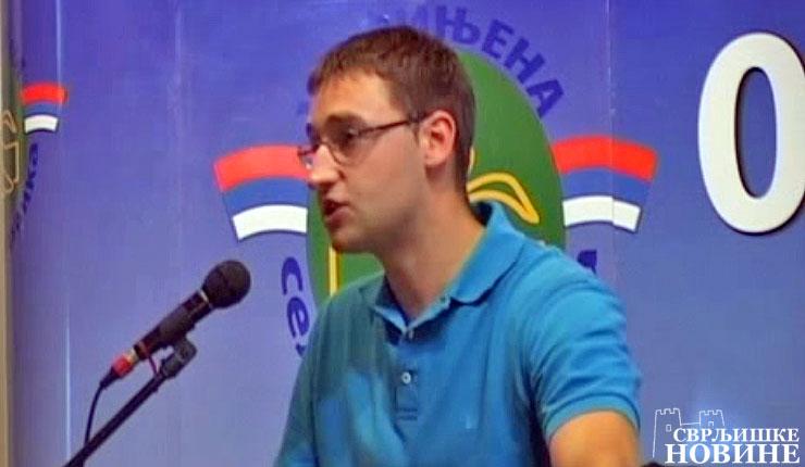 Odbornik Marko Mladenović se odrekao odborničkih dnevica kako bi pomogao deci