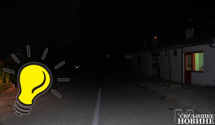 Foto info: Mrkli mrak u Prvomajskoj ulici
