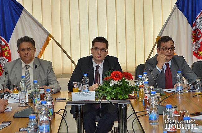 Poslanici zasedali u Svrljigu