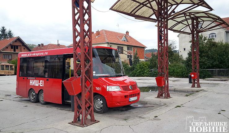 Startovali minibusevi (FOTO)