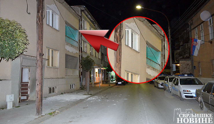 Foto info: Raspadaju se zgrade u centru