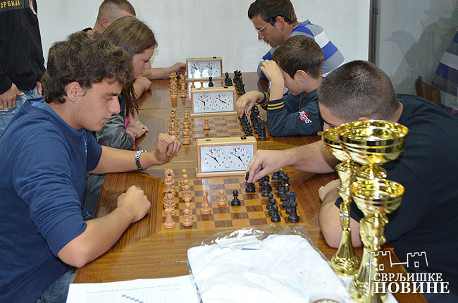 Održan omladinski šahovski turnir