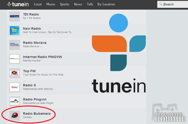 """""""Bubamara"""" u top 10 najslušanijih stanica"""