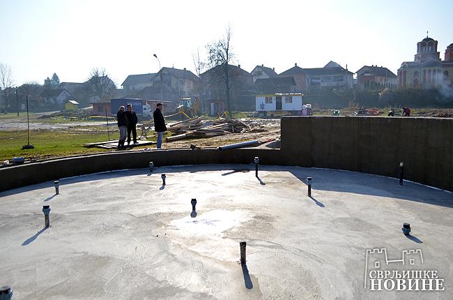 Uspešna izgradnja bazena