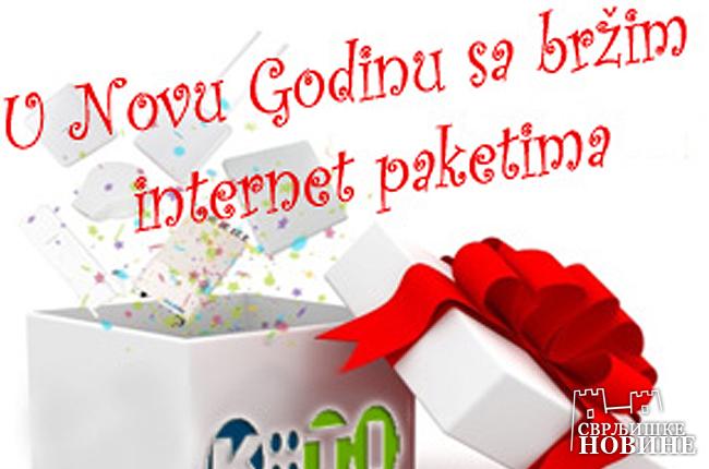 Povećana brzina interneta
