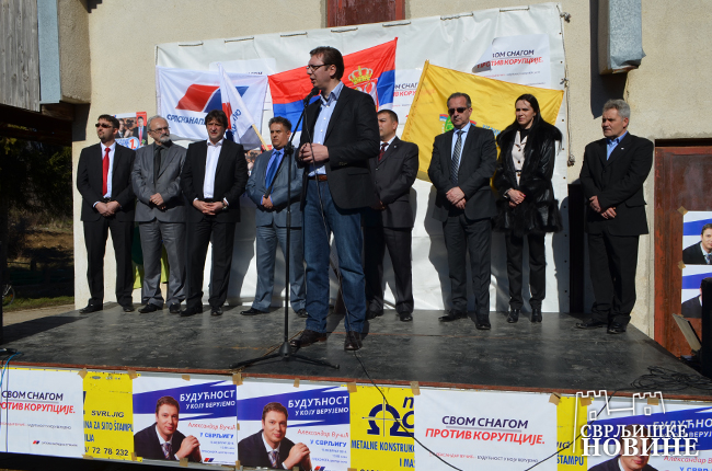 Arhivska fotografija, Vučić obišao selo Prekonogu, Foto: Svrljiške novine