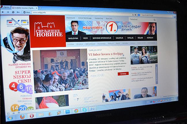 Svrljiške novine dnveno poseti i do 2000 ljudi