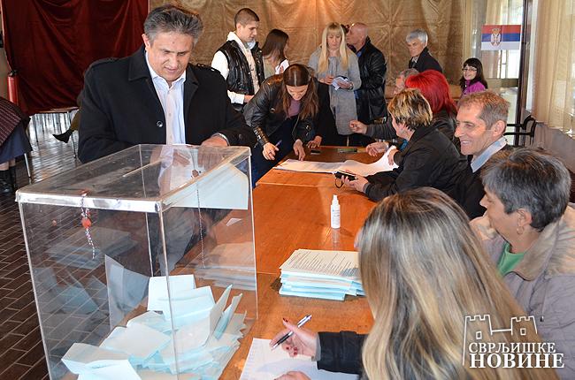 Ubedljivo pobeda SNS u Svrljigu 66,5%