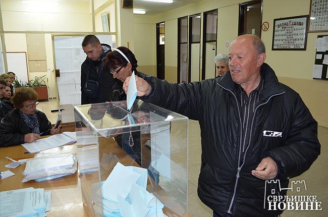 Izbori: U Svrljigu do 16h izašlo 46%