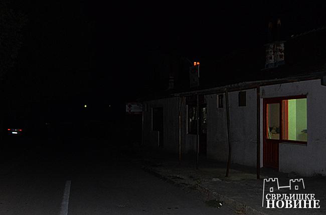 Svrljig u mraku!